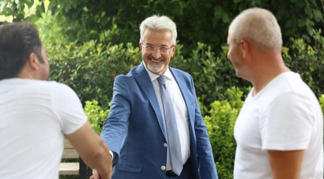 Başkan Erdem'den bayram ziyaretleri