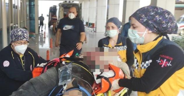 Otobanda feci kaza: 1 ölü, 1 yaralı