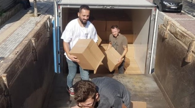 Nilüfer'de yardım seferberliği