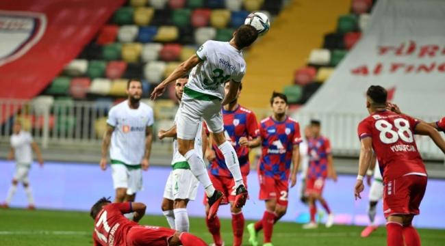 Bursaspor bu sezon her maçta gol gördü